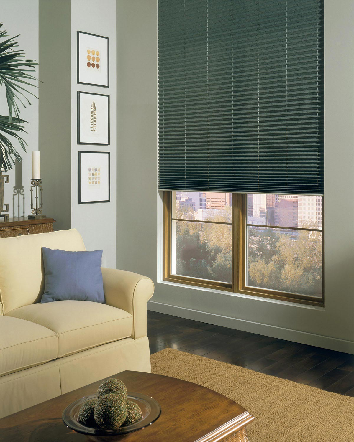 Horizontal fabric blinds for Sun tunnel blackout shade