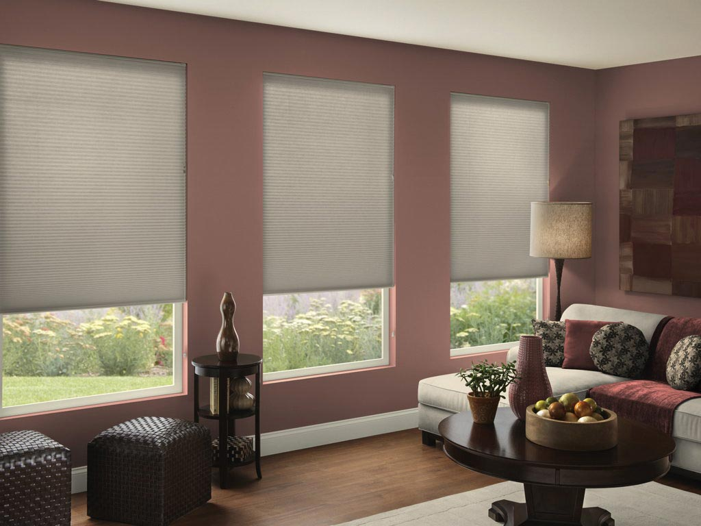 3 8 Double Cell Light Filtering Honeycomb Shades Shade