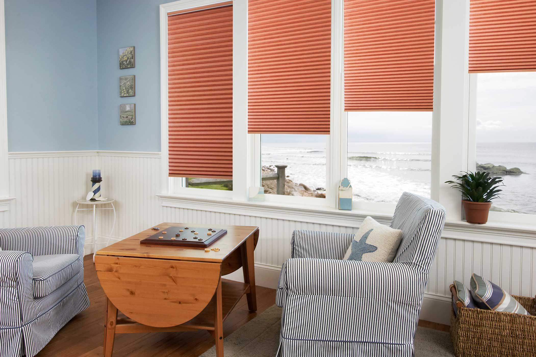 Double Cell Cordless Light Filtering Honeycomb Shades