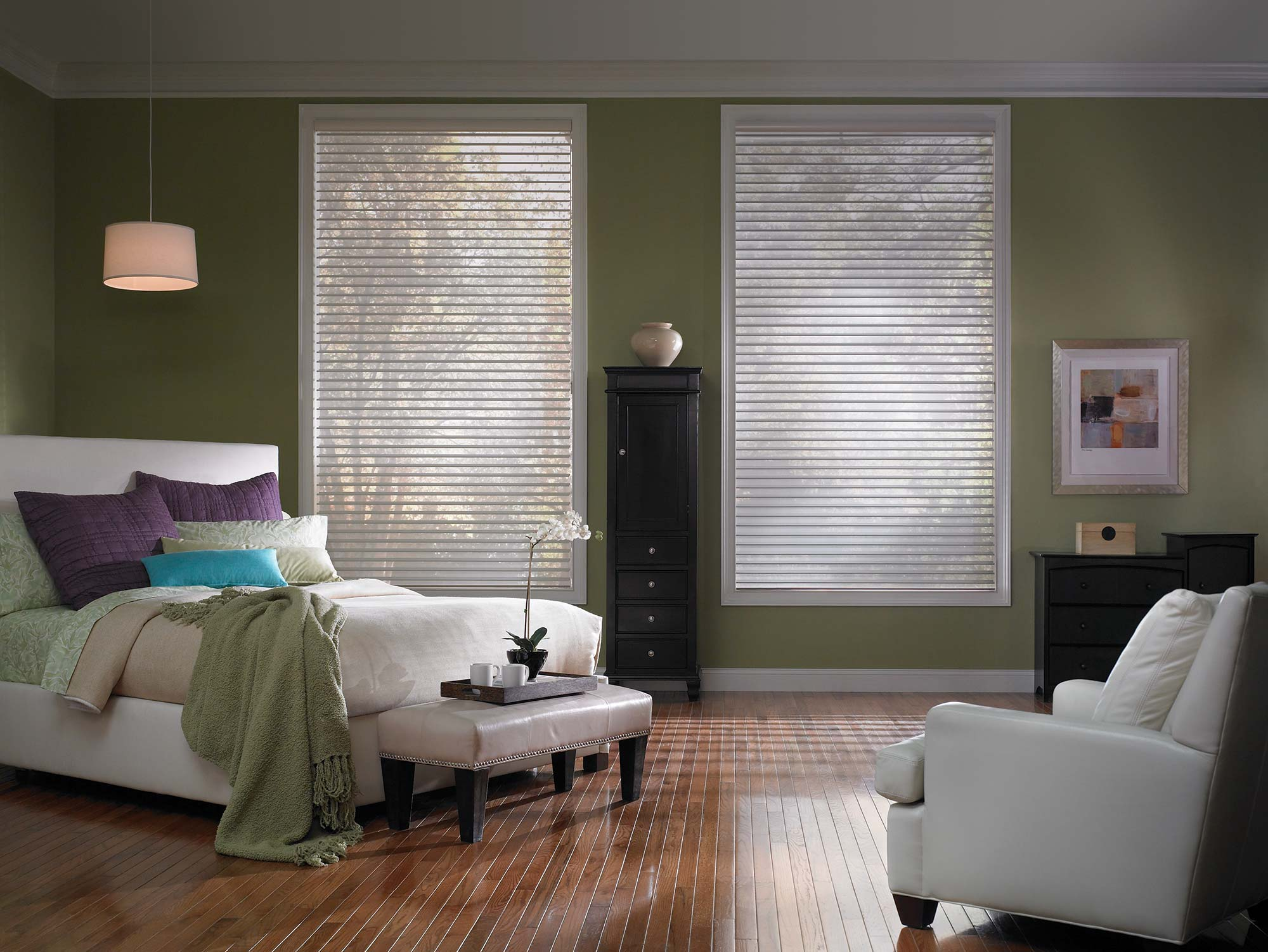 Premium 2 Sheer Horizontal Room Darkening Shades Shade